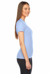 American Apparel 2102 Baby Blue  Side
