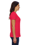 American Apparel 23215 Red  Side