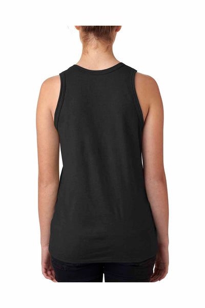 Hanes 42MT Black X-Temp Performance Blend Tank Top Back