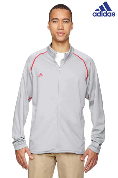Adidas A200 Grey/Red Climawarm+ Blend Sweatshirt Front