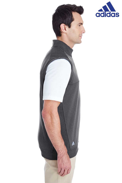 Adidas A271 Heather Black Club Blend Vest Side