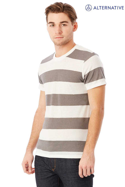 Alternative 01973EA Eco Grey/White Stripe  Side