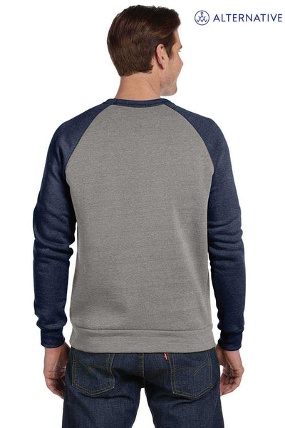 Alternative AA3202 Eco Grey/Navy Blue  Back