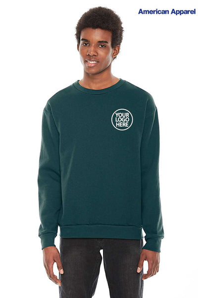 American Apparel F496W Forest Green  Logo
