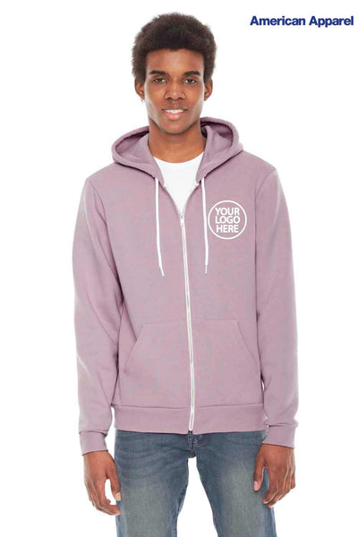 American Apparel F497 Mauve Purple  Logo
