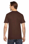 American Apparel 2001 Brown  Back