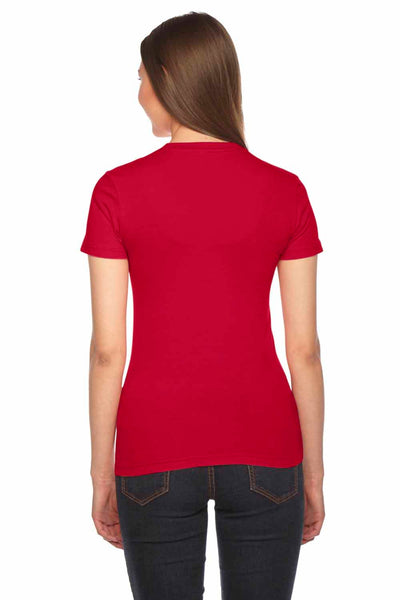 American Apparel 2102 Red  Back