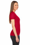 American Apparel 2102 Red  Side