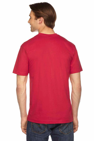American Apparel 2456 Red  Back