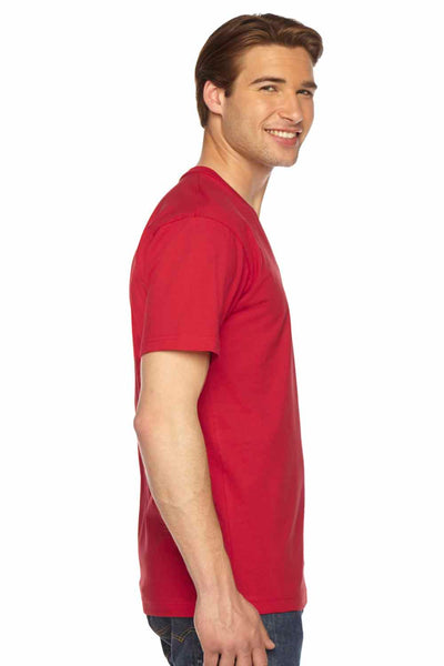 American Apparel 2456 Red  Side