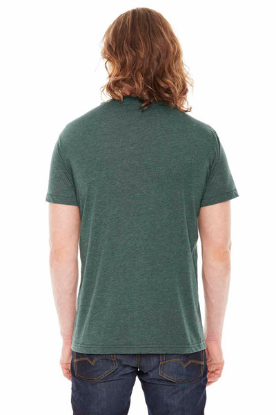 American Apparel BB401 Heather Forest Green  Back