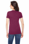 American Apparel TR301 Cranberry Red  Back