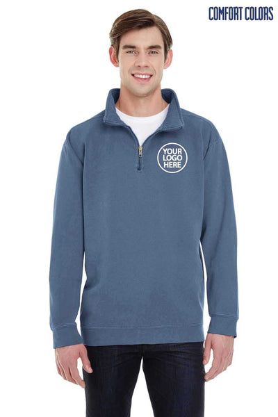 Comfort Colors 1580 Blue Jean Blend Sweatshirt Embroidery