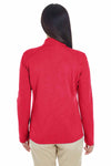 Devon & Jones DG479W Red DRYTEC20 Performance Cotton Sweatshirt Back