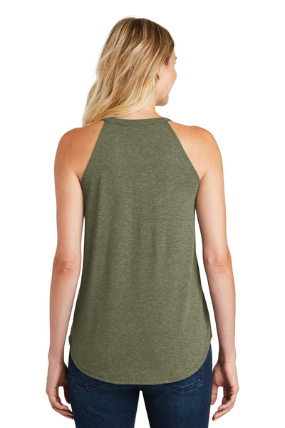 District DT137L Military Green Frost  Back