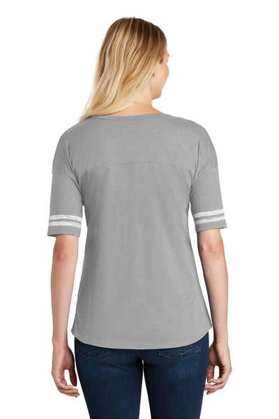 District DT487 Heather Nickel Grey/White  Back