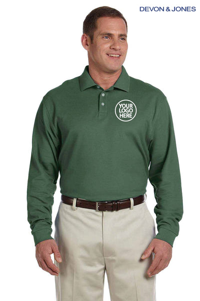 Devon & Jones D110 Dill Green  Logo