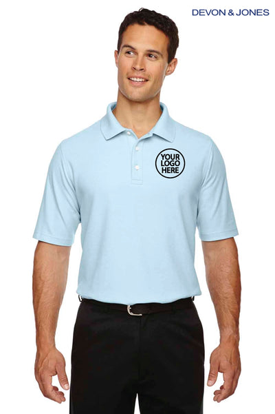 Devon & Jones DG150 Crystal Blue  Logo