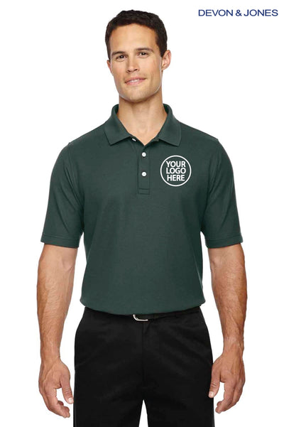 Devon & Jones DG150 Forest Green  Logo