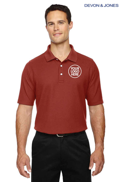 Devon & Jones DG150 Rust Red  Logo