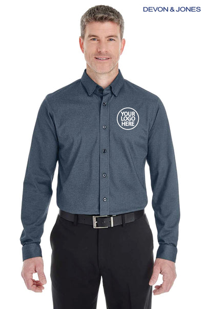 Devon & Jones DG230 Navy Blue  Logo