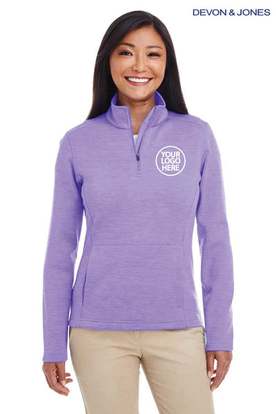 Devon & Jones DG798W Purple  Embroidery