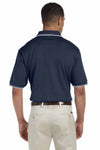 Devon & Jones D140 Navy Blue  Back