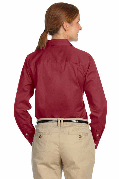 Devon & Jones D610W Burgundy  Back