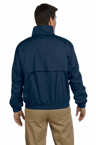 Devon & Jones D850 Navy Blue  Back
