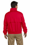 Devon & Jones D850 Red Clubhouse Blend Jacket Back