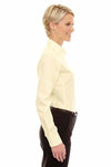 Devon & Jones DG530W Yellow Crown Collection Stretch Twill Blend Long Sleeve Button Down Shirt Side