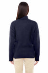 Devon & Jones DG793W Navy Blue  Back