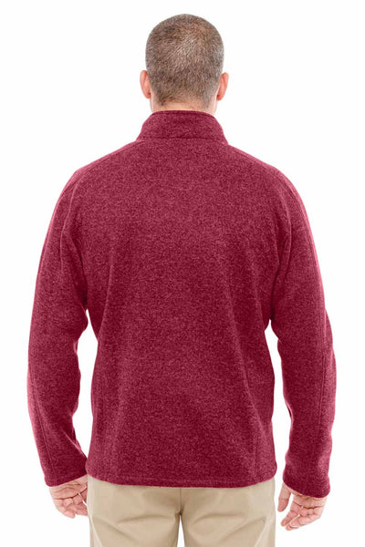 Devon & Jones DG793 Red Bristol Sweater Fleece Sweatshirt Back