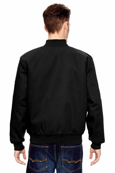 Dickies JTC2 Black Industrial Blend Insulated Work Jacket Back