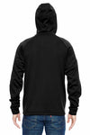 Dickies LJ536 Black Tactical Fleece Hooded Sweatshirt Hoodie Back