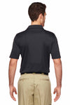Dickies LS425 Black MaxCool Performance Polyester Short Sleeve Polo Shirt Back