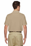 Dickies LS952 Sand Brown Tactical Performance Polyester Short Sleeve Polo Shirt Back
