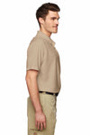 Dickies LS952 Sand Brown Tactical Performance Polyester Short Sleeve Polo Shirt Side