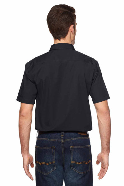 Dickies LS953 Black Tactical Ripstop Blend Ventilated Short Sleeve Button Down Shirt Back