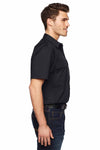 Dickies LS953 Black Tactical Ripstop Blend Ventilated Short Sleeve Button Down Shirt Side