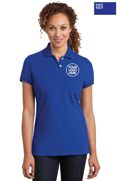 District DM425 Royal Blue  Logo