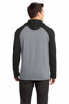 District DT128 Heather Grey/Black  Back