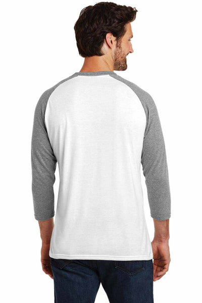 District DM136 White/Grey Frost  Back
