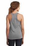 District DM420 Heather Nickel Grey  Back