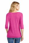 District DM444 Heather Fuchsia Pink  Back