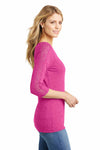 District DM444 Heather Fuchsia Pink  Side