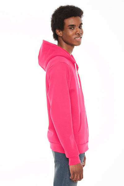 American Apparel F497W Deep Pink  Side