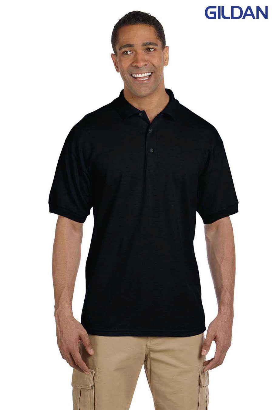 Gildan Mens Ultra Cotton Pique Short Sleeve Polo Shirt G380