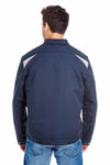 Dickies LJ605 Navy Blue Performance Blend Team Jacket Back