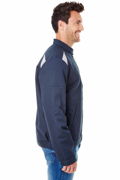Dickies LJ605 Navy Blue Performance Blend Team Jacket Side